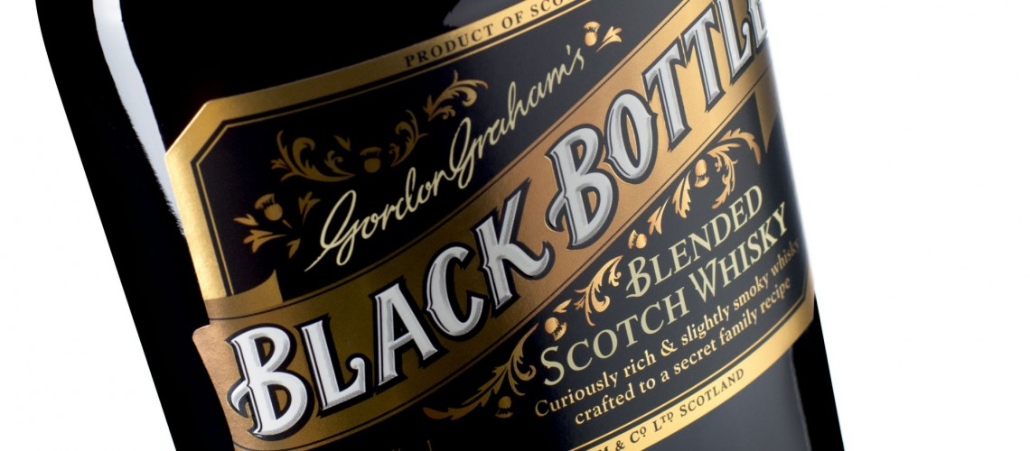 "Scotch Whisky ""Black Bottle"" - Blend de luxe"