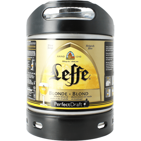 leffe blonde-perfectdraft-6litres