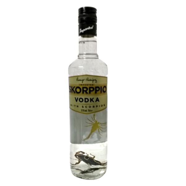 Vodka skorppio scorpion