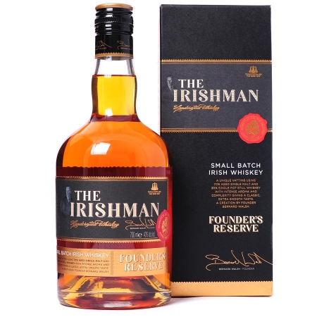 irish whiskey, the irishman