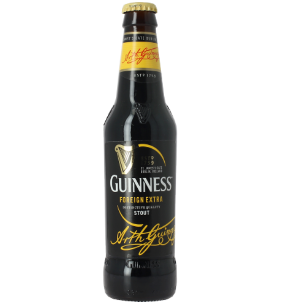 guiness, extra stout, noire, irlande