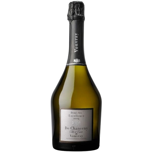 vouvray excellence, de chanceny, demi-sec
